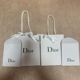 Dior - Dior ディオール ショップ袋 ラッピング袋 リボン 2セット