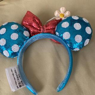 Disney - ディズニーミニードット柄カチューシャ