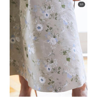 Drawer - セブンテンバイミホカワヒト シノワズリジャガードスカート