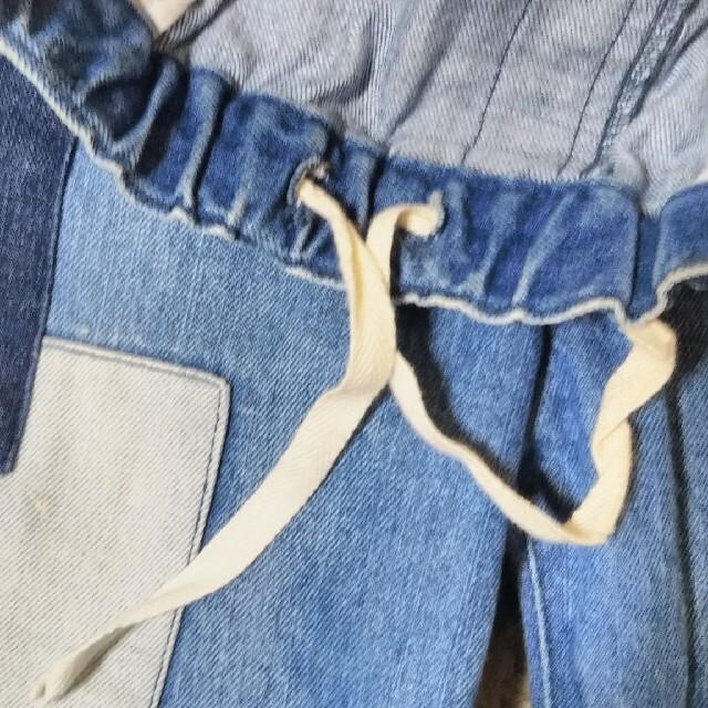 SM2(サマンサモスモス)のSamansa Mos2 パッチワークデニム レディースのパンツ(デニム/ジーンズ)の商品写真