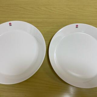 イッタラ(iittala)のイッタラ ティーマ プレート23cmホワイト×2枚(食器)