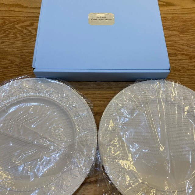 WEDGWOOD(ウェッジウッド)のWEDGWOOD プレート27cm 2枚 インテリア/住まい/日用品のキッチン/食器(食器)の商品写真