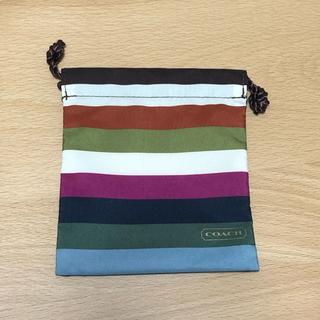 コーチ(COACH)のCOACH ミニ巾着(ショップ袋)