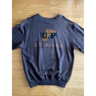 ユーピーレノマ(U.P renoma)のU.P renoma ユーピーレノマ 刺繍 ビッグロゴ  M 古着 スウェット(スウェット)