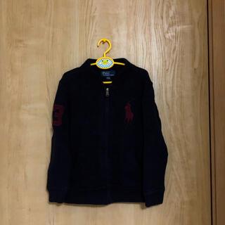 ポロラルフローレン(POLO RALPH LAUREN)の本物ラルフローレンの紺ビックポニーのセーター 4のため100から110程度(ニット)