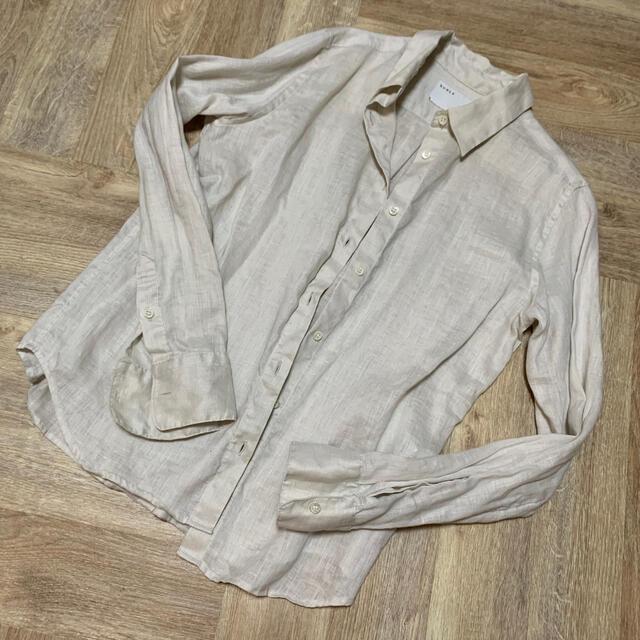 Noble(ノーブル)の80リネンシャツ◆ ノーブル   レディースのトップス(シャツ/ブラウス(長袖/七分))の商品写真