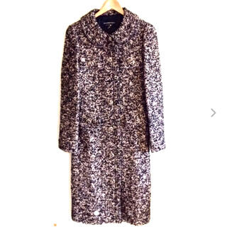 STRAWBERRY-FIELDS - ◆ ストロベリーフィールズ  シルク混 ロングコート ◆ (新品未使用)