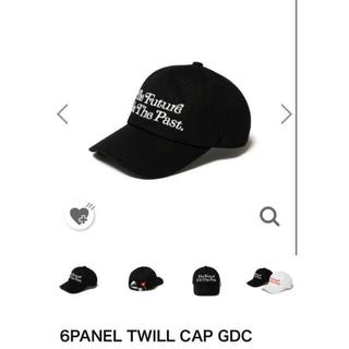 6panel twill cap girls don't cry  キャップ