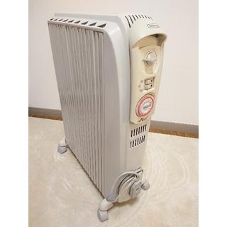 デロンギ(DeLonghi)のデロンギ ドラゴン3 オイルヒーター 白 ホワイト 暖房 DeLonghi(オイルヒーター)