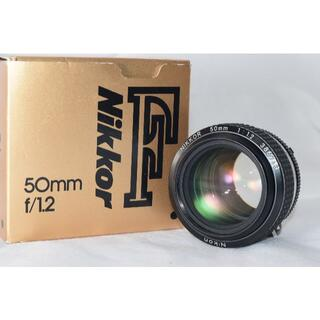 Nikon - 綺麗な展示品☆Nikon Ai-s Nikkor 50mm f1.2☆1年保証付