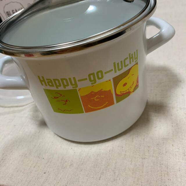 SNOOPY(スヌーピー)のスヌーピー ホーロー容器 インテリア/住まい/日用品のキッチン/食器(容器)の商品写真