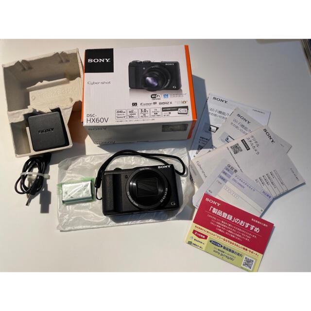 SONY(ソニー)のSONY DSC-HX60V スマホ/家電/カメラのカメラ(コンパクトデジタルカメラ)の商品写真