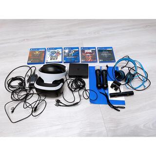 プレイステーションヴィーアール(PlayStation VR)のPlayStation vr カメラ コントローラー ヘッドホン セット(家庭用ゲーム機本体)