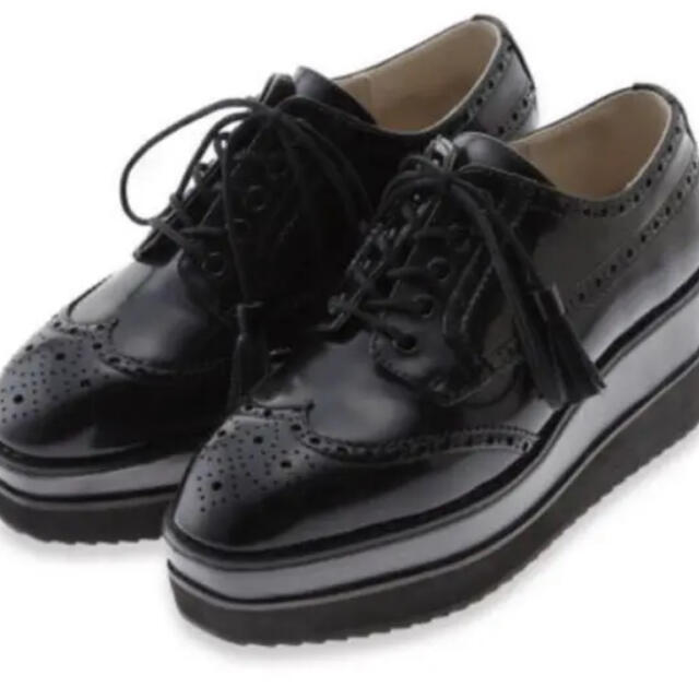 snidel(スナイデル)のオックスフォードシューズsnidel  厚底 レディースの靴/シューズ(ローファー/革靴)の商品写真