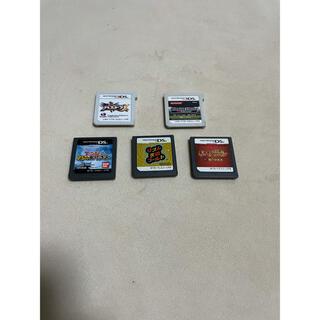 ニンテンドウ(任天堂)のDS 3DSソフト まとめ売り バラ売り不可(携帯用ゲームソフト)