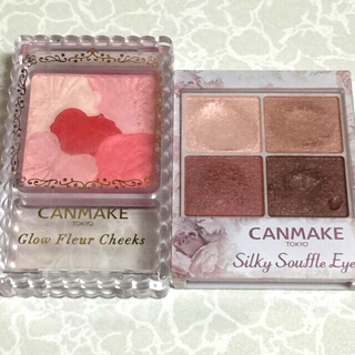 CANMAKE - CANMAKE チーク&アイシャドー セット 中古品