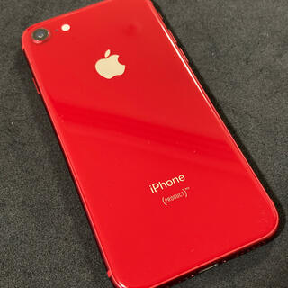 Apple - iPhone8 64GB (PRODUCT)RED 美品