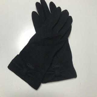 クロエ(Chloe)のクロエ リボン手袋(手袋)