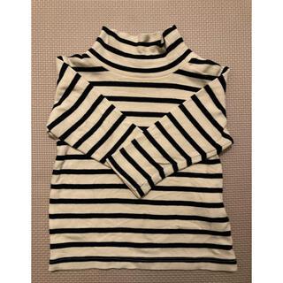 ムジルシリョウヒン(MUJI (無印良品))の無印 長袖 タートルネック ロングTシャツ(シャツ/カットソー)