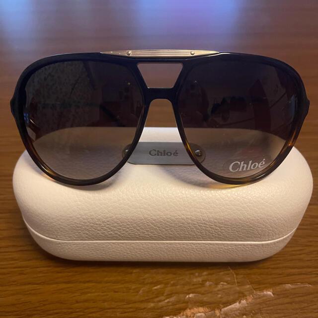 Chloe(クロエ)の【値下交渉有❗】 Chloeのサングラス 黒 レディースのファッション小物(サングラス/メガネ)の商品写真