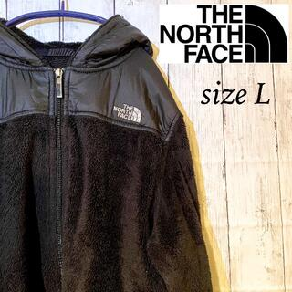 THE NORTH FACE - 【ノースフェイス】フリース ボア フーディー L 古着 NORTH FACE