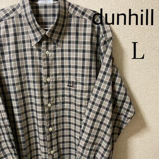 ダンヒル(Dunhill)のdunhill Sport ダンヒル スポーツ 長袖シャツ チェック L(シャツ)