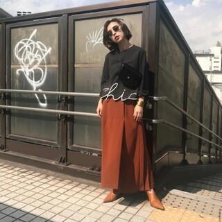 アメリヴィンテージ(Ameri VINTAGE)のバックプリーツロングスカート アメリヴィンテージ(ロングスカート)