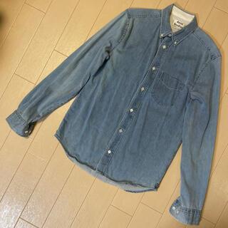 アクネ(ACNE)のアクネ デニムシャツ 44 クラシックフィット(シャツ)