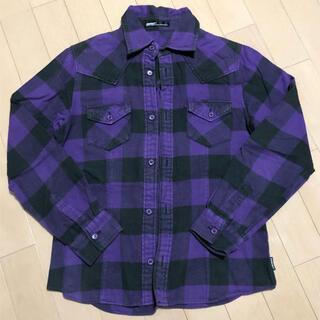 アンクワイエット(ANQUIET)のANQUIET チェックシャツ ネルシャツ(シャツ/ブラウス(長袖/七分))