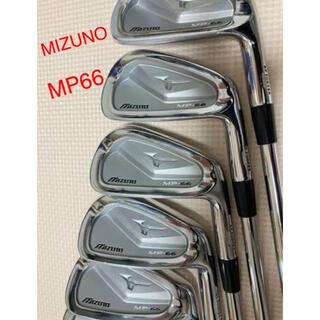 MIZUNO - ミズノ アイアン MP66 6本セット