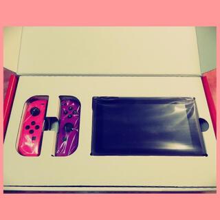Nintendo Switch - 【新品】Nintendo Switch 本体 ネオンピンク ネオンパープル