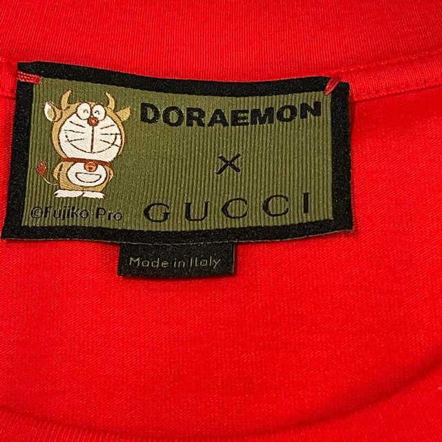 Gucci(グッチ)の【最安値】GUCCI &ドラえもんコラボTシャツ(限定品) メンズのトップス(Tシャツ/カットソー(半袖/袖なし))の商品写真