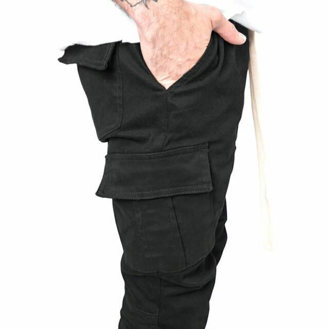 FEAR OF GOD(フィアオブゴッド)の【新品】mnml ミニマル カーゴパンツ スキニーパンツ ブラック カーゴスキニ メンズのパンツ(ワークパンツ/カーゴパンツ)の商品写真