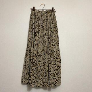 しまむら - 美品 プリーツスカート ロングスカート
