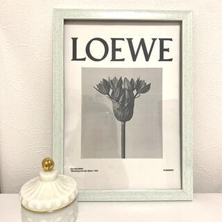 ロエベ(LOEWE)のインテリアポスター LOEWE  ロエベ A4サイズ フレーム付き(アート/写真)