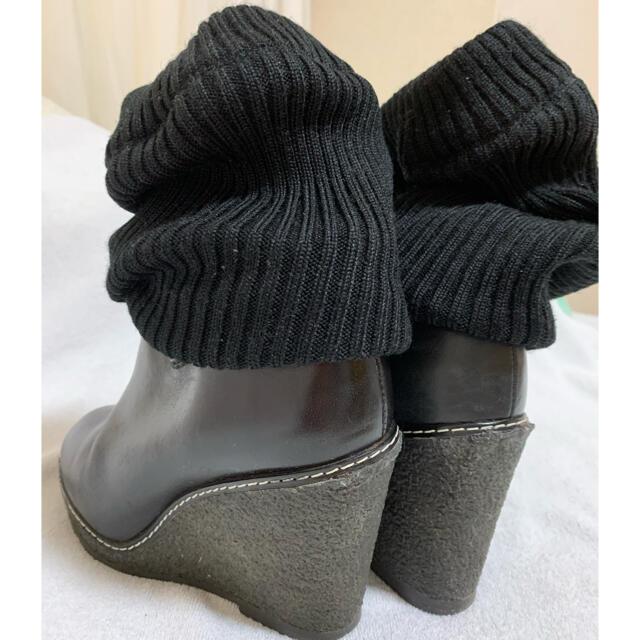 MARC JACOBS(マークジェイコブス)のMARC JACOBS ソックスブーツ 37 レディースの靴/シューズ(ブーツ)の商品写真