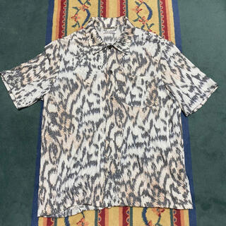 JOHN LAWRENCE SULLIVAN - our legacy アワーレガシー タイガーカモ 半袖シャツ シャツ