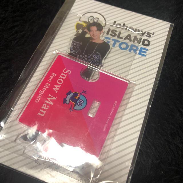 Johnny's(ジャニーズ)の目黒蓮 めめ SnowMan  アクリルスタンド アクスタ エンタメ/ホビーのタレントグッズ(アイドルグッズ)の商品写真