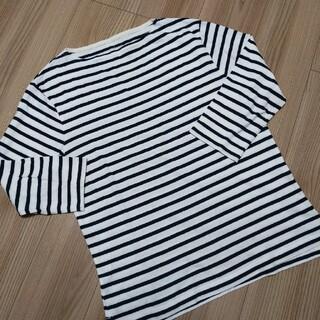 MUJI (無印良品) - 無印良品 MUJI  ボートネック Tシャツ