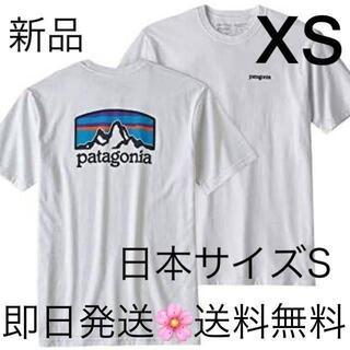 パタゴニア(patagonia)の 即日発送 パタゴニア Tシャツ XSサイズ 国内正規品 ホワイト (Tシャツ/カットソー(半袖/袖なし))