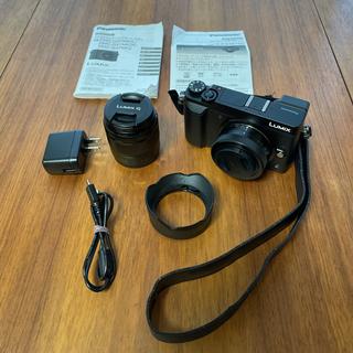 Panasonic - Panasonic DMC-GX7MK2W-K ミラーレス一眼カメラ