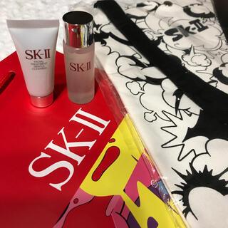 エスケーツー(SK-II)の未使用 SK-II クリアローション クレンザー トートバッグ 紙袋(その他)