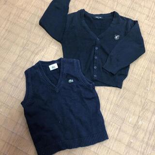 コムサイズム(COMME CA ISM)の幼稚園 保育園 セーター まとめ売り セット コムサ ラコステ ベスト(ニット)