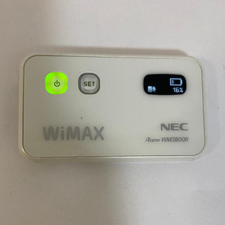エヌイーシー(NEC)のWifi ルーターNEC Aterm WM3800R(その他)