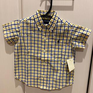 ラルフローレン(Ralph Lauren)の新品 ラルフローレンシャツ L 12-18m(シャツ/カットソー)
