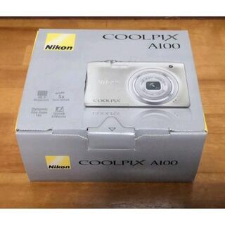 Nikon - Nikon COOLPIX A100 光学5倍 2005万画素 シルバー