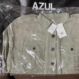 アズールバイマウジー(AZUL by moussy)のAZUL ビックシルエットシャツL(Tシャツ(長袖/七分))