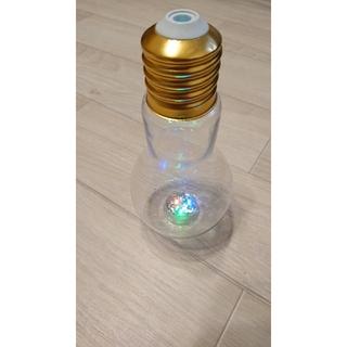 【現品限り!!】電球型ドリンクカップ(容器)