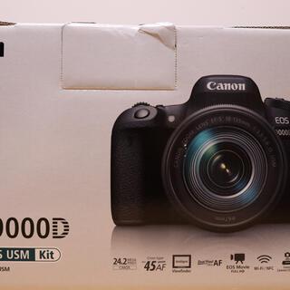 Canon - 大人気! CANON キヤノン EOS 9000D 一眼レフ  ほぼ新品