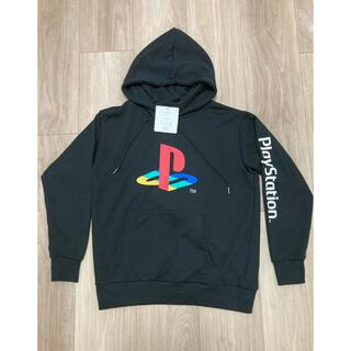 プレイステーション(PlayStation)の新品★ Mサイズ PlayStation プレイステーション パーカー ブラック(パーカー)